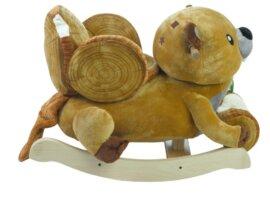 Critters Buckee Beaver Chair Rocker - New!