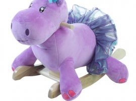 Gracie the Hippo Baby Rocker - New!