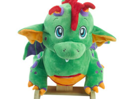 Poof the Lil' Dragon Baby Rocker