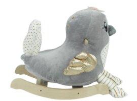 Skye the Grey Bird Chair Rocker
